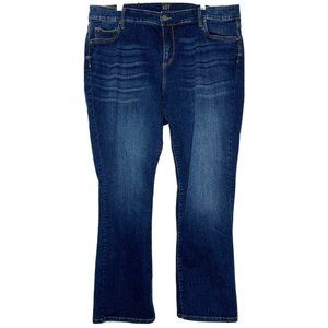 Kut from the kloth Baby Bootcut Blue Jeans Size 20W